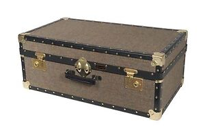 Harris-Tweed-Traditionnel-Mossman-vintage-attache-bagages-malles-30x17x11-034-91-Ltr