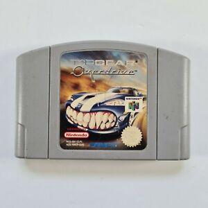 Top Gear Overdrive-N64 Nintendo 64-Cartucho únicamente-PAL GRATIS UK FRANQUEO