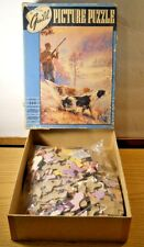 1950'S Whitman Guild Picture Puzzle TENSION Series 'GG' Hunting Irish Setters