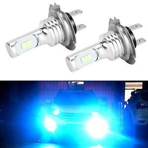 Kit-de-bombillas-de-faros-LED-H7-High-Beam-35W-4000LM-8000K-Ice-Blue