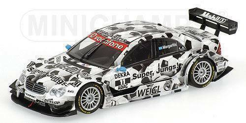 Mercedes Class-C  Football  DTM 2006 pilote Margaritis 400063591 1 43 Minichamps