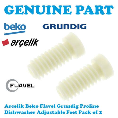 Beko DFN04C10W DFN05210B DFN05210S DFN05210W Lave-vaisselle Réglable Jambe Pied