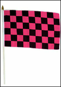 """12x18 12/""""x18/"""" Saudi Arabia Stick Flag wood Staff"""