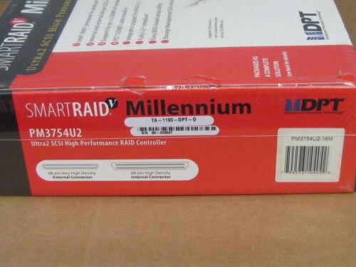DPT PM3754U2 SmartRAID V Millennium 80MB//s SCSI High Performance RAID Controller