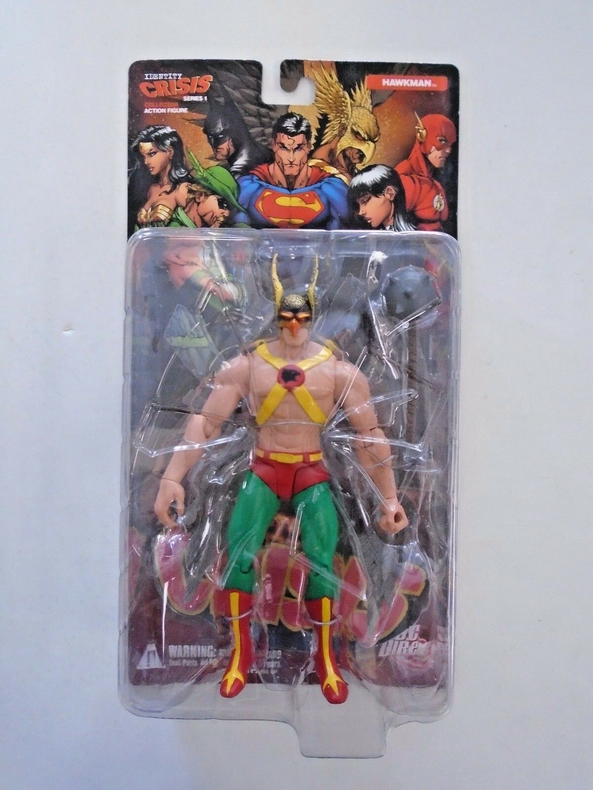 Identity Crisis Series 1 Complete Action Figure Set of 5 Close to new condition
