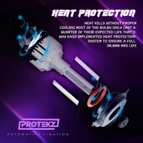 LED Headlight Kit Protekz Hb3 9005 6000K High Beam for GMC Canyon 2004-2018