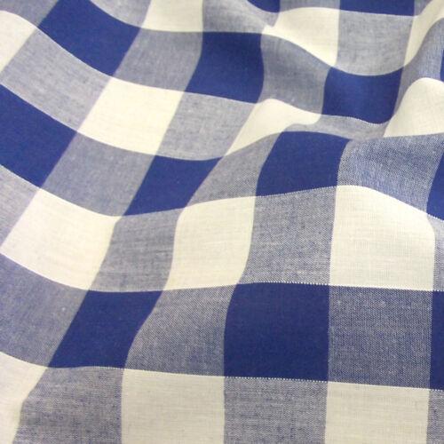 """de large vérifier robe matériel -44/"""" 25 mm 112 cm Tissu Vichy filaire 1 /"""""""