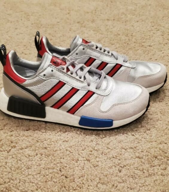 adidas Rising Star X R1 Silver Metallic/Red/White Never Made ...