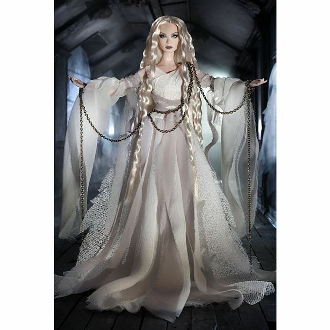 BARBIE DA COLLEZIONE HAUNTED  BEUTY GHOST BARBIE MATTEL NUOVA W7819  shopping online e negozio di moda