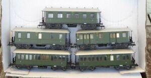 Liliput-la-raccolta-5-pezzi-langenschwalbacher-vagoni-della-DRG-EPOCA-2