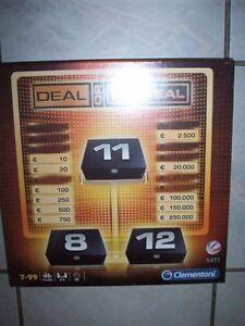 Clementoni-69380-1-Brettspiel-Deal-or-no-Deal-Neu-OVP