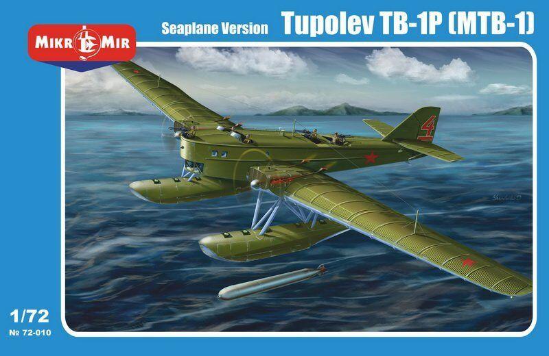 Tupolev TB-1P (MTB-1) Seaplane Version  Micro-Mir  72 scale