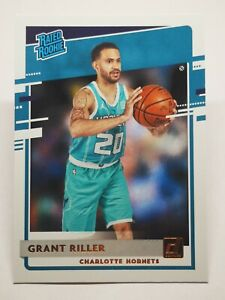 Panini Donruss 2020-21 N4 NBA Grant Riller Rated Rookie #250 Charlotte Hornets