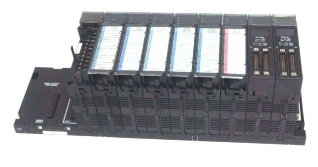 USED GE Fanuc IC693CHS392H Base 10-Slot Base EMI Expansion PLC Rack