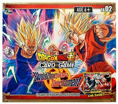 Dragon Ball Super World Martial Arts Tournament Booster Box New Sealed 24 Packs