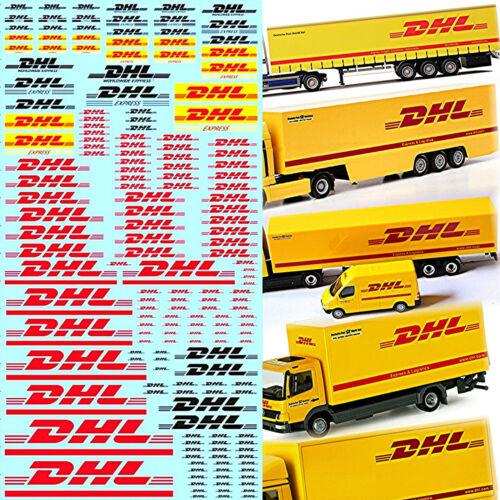 DHL patrocinadores arco camiones trucks nº 1-0,85-8,5 mm 1:87 decal estampados