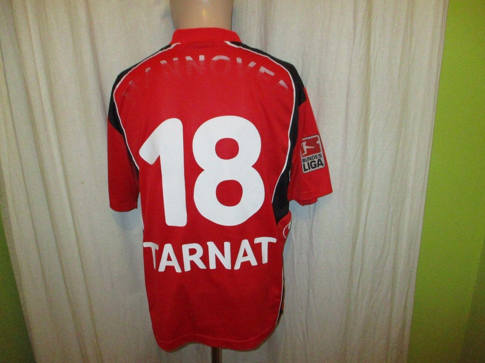 Hannover 96 Original uhlsport Heim Trikot 2004 05  TUI  + Nr.18 Tarnat Gr.M L