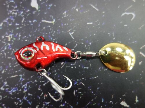 Spin Bait 13g Chatterbait Bait Spinner Lures Pike Perch Spinmad Darling