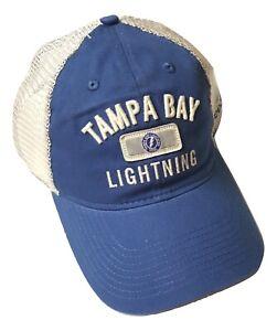 Reebok-Tampa-Bay-Lightning-Hat-Slouch-Mesh-Adjustable-Snapback-Cap