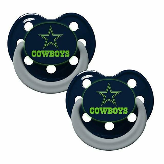 New Orleans Saints Pacifiers 2 Pack Set Infant Baby Fanatic BPA Free NWT
