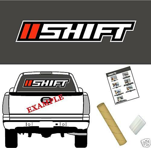 "Shift MX Logo 42/"" Vinyl Vehicle Graphic Decal Sticker Motorcross Gear"
