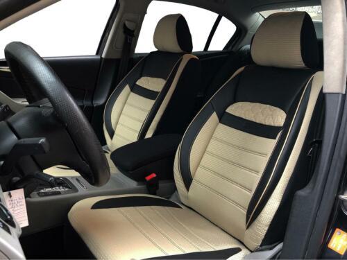 Coprisedili Rivestimenti Mercedes-Benz Classe M NERO-BEIGE v2525309 SEDILI ANTERIORI