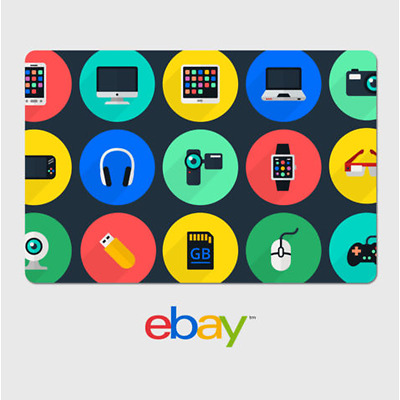 eBay Digital Gift Card - Electronics -  Fast email delivery