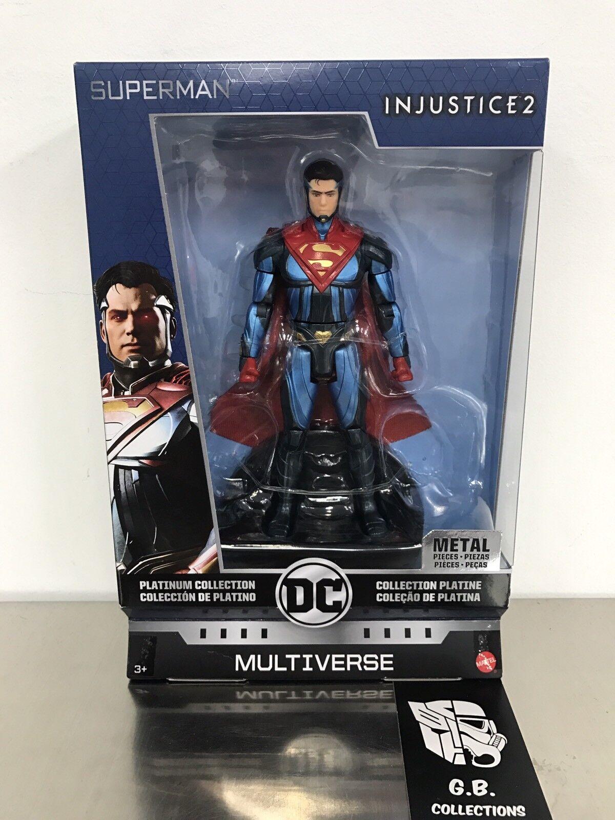 Dc comics multiversum platinum collection superman ungerechtigkeit 2 neue versiegelt