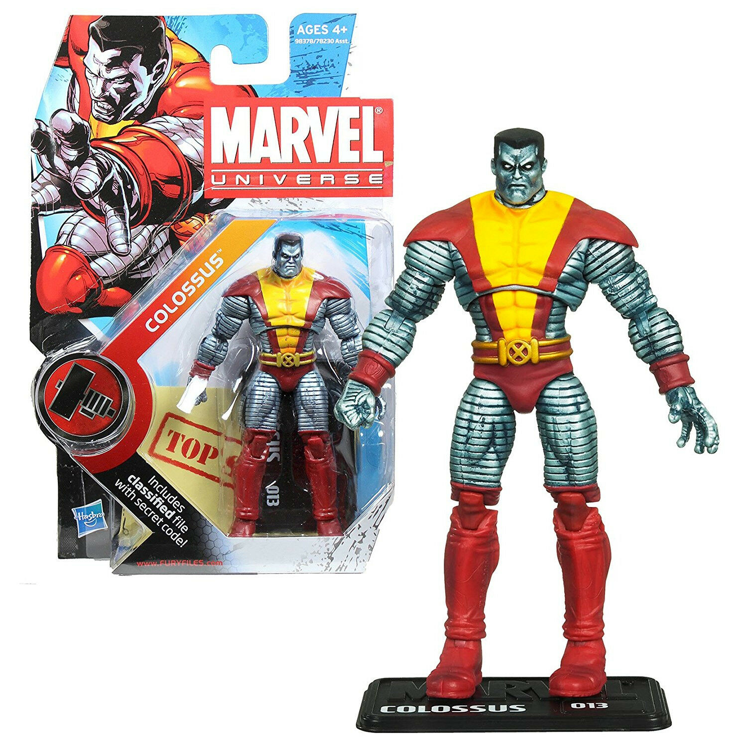 Marvel Universe 3 3 4  Action Figures - Colossus