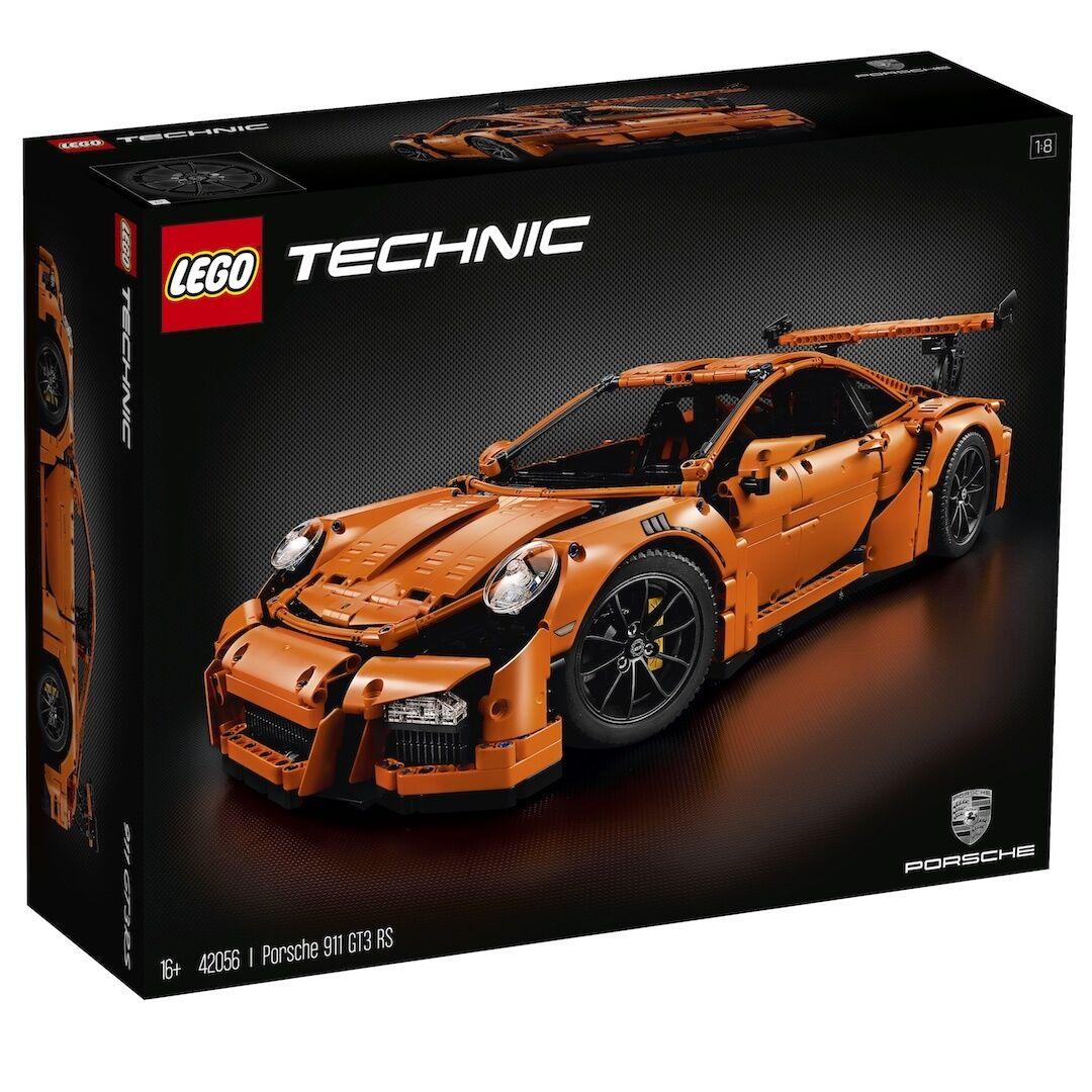 LEGO Technic 42056 PORSCHE 911 GT3 RS-NUOVISSIMO SIGILLATO 1st Class consegna