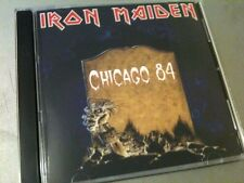 Iron Maiden Double CD Chicago USA Powerslave Tour 84