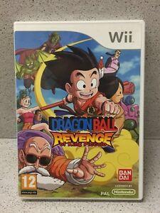 JEU-Wii-DRAGON-BALL-REVENGE-SANS-NOTICE-PAR-NINTENDO