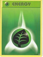 POKEMON XY EVOLUTIONS CARD - GRASS ENERGY 91/108