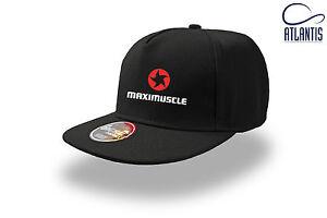 Cappellino-visiera-piatta-Bodybuilding-Fitness-Palestra-Maximuscle