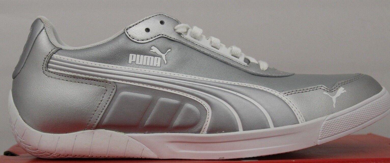 Puma Men's 3.0 LO Silver White Brand New in Box