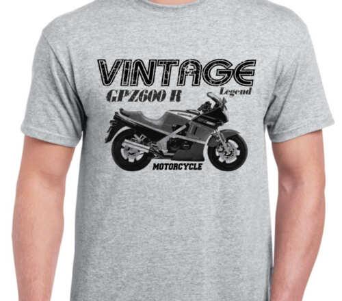 KAWASAKI GPZ600R 85 inspired vintage motorcycle classic bike shirt tshirt