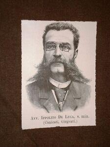 Incisione-del-1894-Onorevole-o-Deputato-Ippolito-De-Luca-di-Canicatti-Agrigento