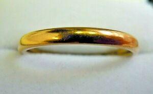 Antique-1899-22-Carat-Narrow-Wedding-Ring-Size-N