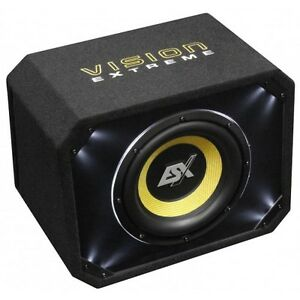 ESX-VE-300-Vision-30CM-ENCEINTE-DE-BASSES-Bass-Reflex-Performance-500-1000-Watt