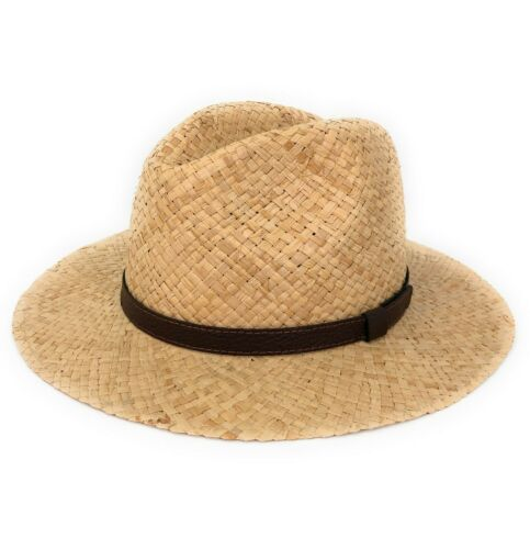 Strohhut Herren Damen Sommerhut Hut Sommer Panamahut Sonnenhut Traveller