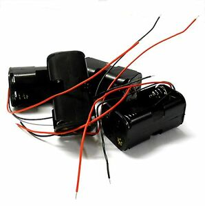 Inventif C1202-5v2 Rc 4 X Batterie Support Boitier Pack De 4 Aa Sans Connecteur Fin Marchandises De Haute Qualité