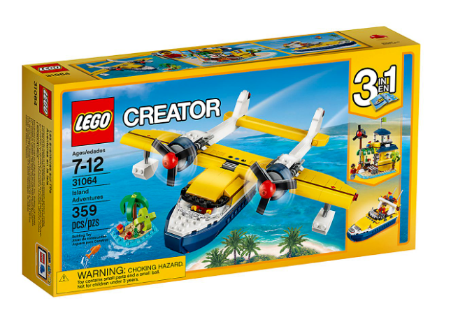 Lego Creator 3 in 1 31064 Island Adventures  NEW NEW NEW & Unopened d7a71c