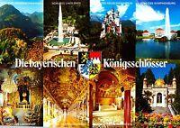 Die bayerischen Königsschlösser , Ansichtskarte , ungelaufen