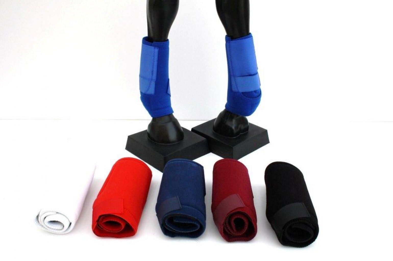 P.T. Front Protection Stiefel Neopren Gamaschen Vorderbine vor Größe M
