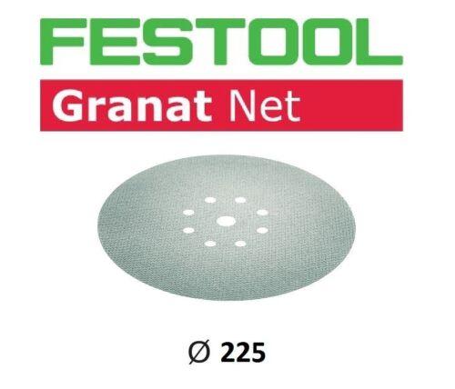 FESTOOL Netzschleifmittel Granat NET Gitter Ø 225mm StickFix VOC Lacke Spachtel