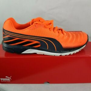 89373398815 PUMA Men s Faas 300 V3 Running Shoe Peach Orange Blue Yellow 187066 ...