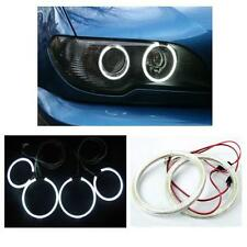 Bmw Serie 3 E46 2 Puertas Coupe 02-05 Blanco 6000k Smd Led Angel Eye Kit Uk!!