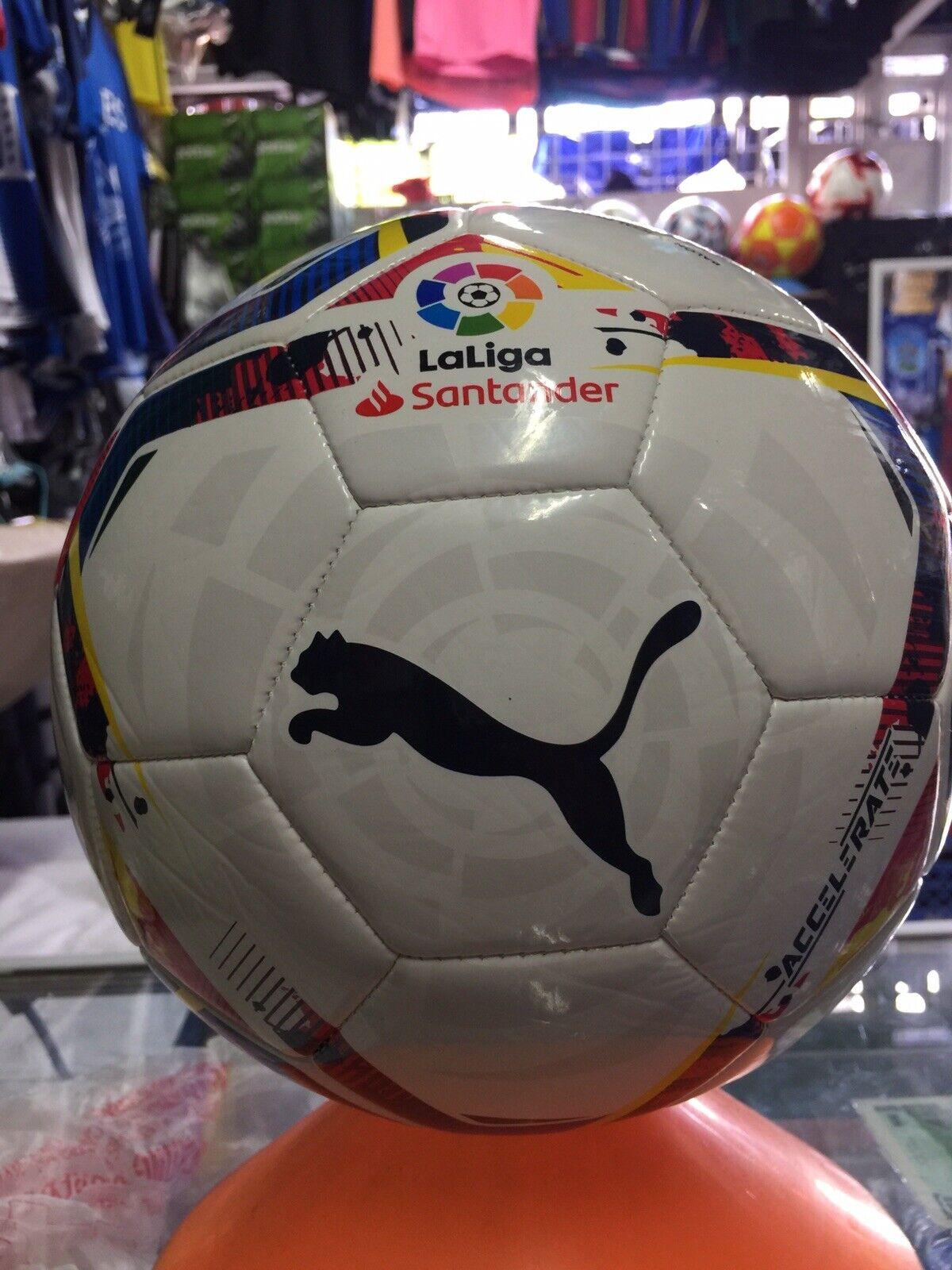 PUMA Accelerate La Liga 1 MS White Multicolor Soccer Training Ball ...