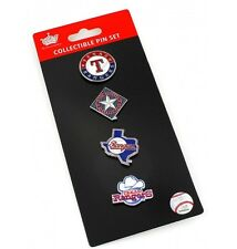 Texas Rangers Logo Pin Set