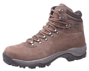 Hart ruslan cuero caza botas, marrón outdoorschuh